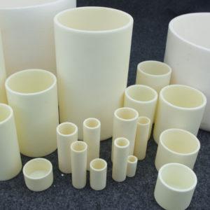 15 Sizes 99% Alumina Ceramic Cylinder Crucible For Tube Muffle Furnace 1600°C Free Shipping Worldwide