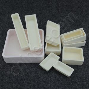 23 Sizes 99% Alumina Ceramic Al2O3 Boat Crucibles For Muffle Furnaces 1600°C Free Shipping Worldwide